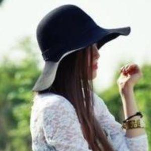 Accessories - SALE!  Wide Brim Big Floppy Hat Black